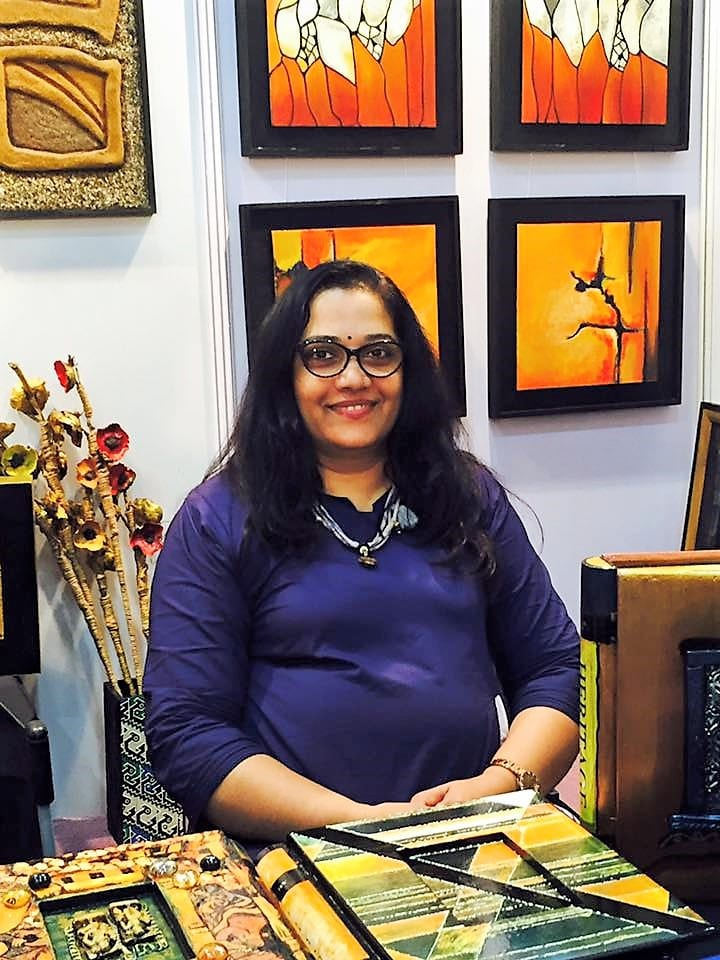 Manjiri Chandorkar, owner of ArtIdeaz Studio, Andheri (West), Mumbai
