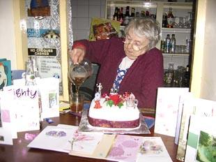 Bessie-celebrating-her-80th-birthday