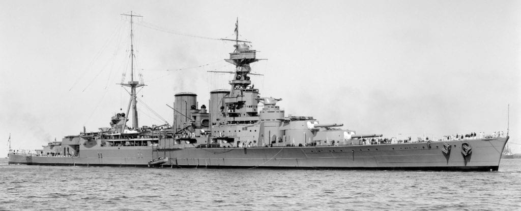HMS-Hood-photographed-on-17th-March-1924