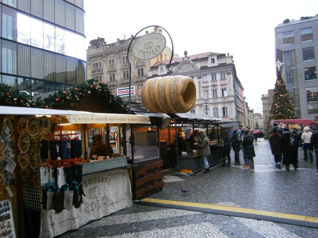 Trdelnik follows you around the Czech Republic