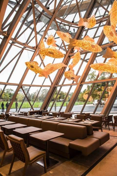 Le Franck, the restaurant of Louis Vuitton fondation