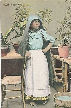-As-it-was-then-village-woman-in-peasant-clothing