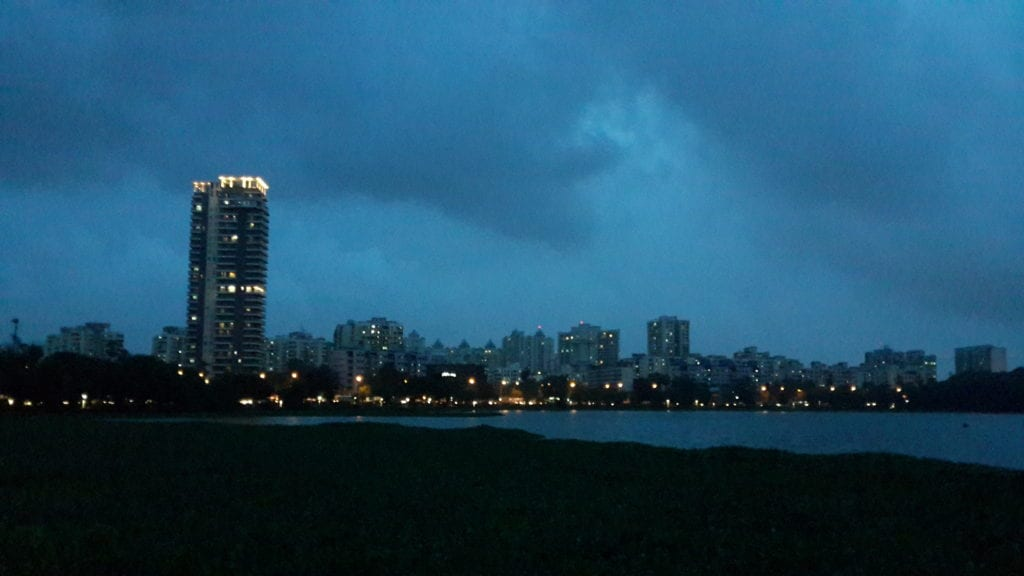 View from Powai lake