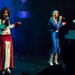 Thank Abba for the Music on stage at Bedworth Civic Hall