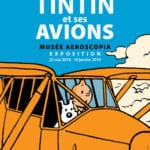 1 Tintins planes exhibition in Toulouse