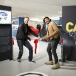 Pic 1 Opening the Car S.O.S. exhibition