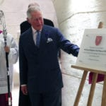 MalDia 10 01 08 18 Prince Charles in Malta last year and made substantial donation to Cathedrals restoration fund.