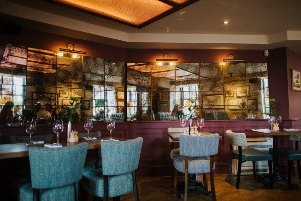 Pic The dining area
