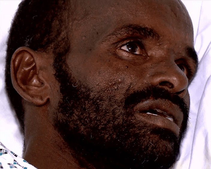 MalDia Sole survivor Mohammed Adam from Ethiopia watched his companions die one by one