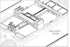 typical layout of smaller workhouse