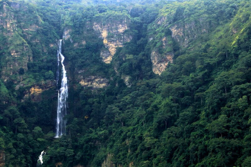 The Wli falls the longest in Ghana