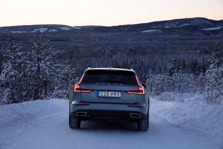 Volvo V Cross Country T Test Drive in Lule Sweden