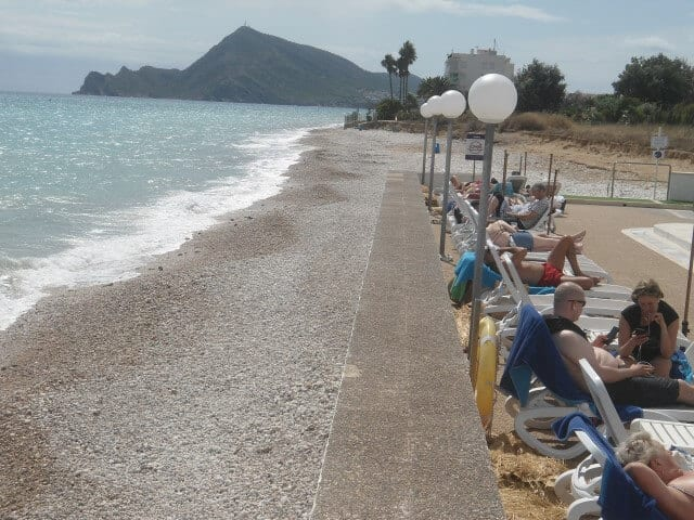 Beach by Cap Negret Hotel Altea