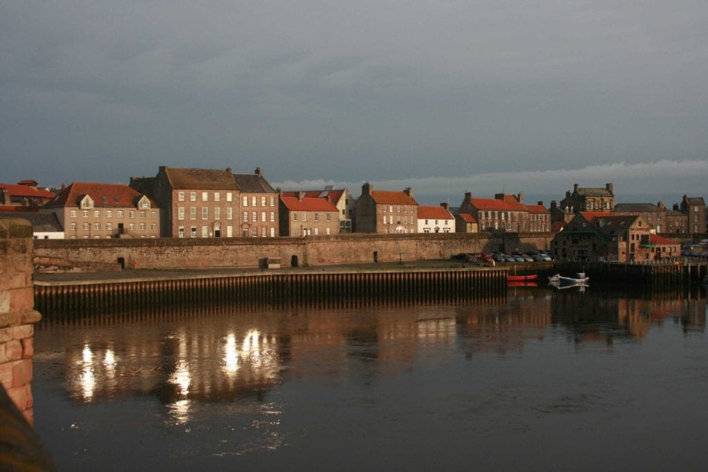 Evening Walls and Quayside
