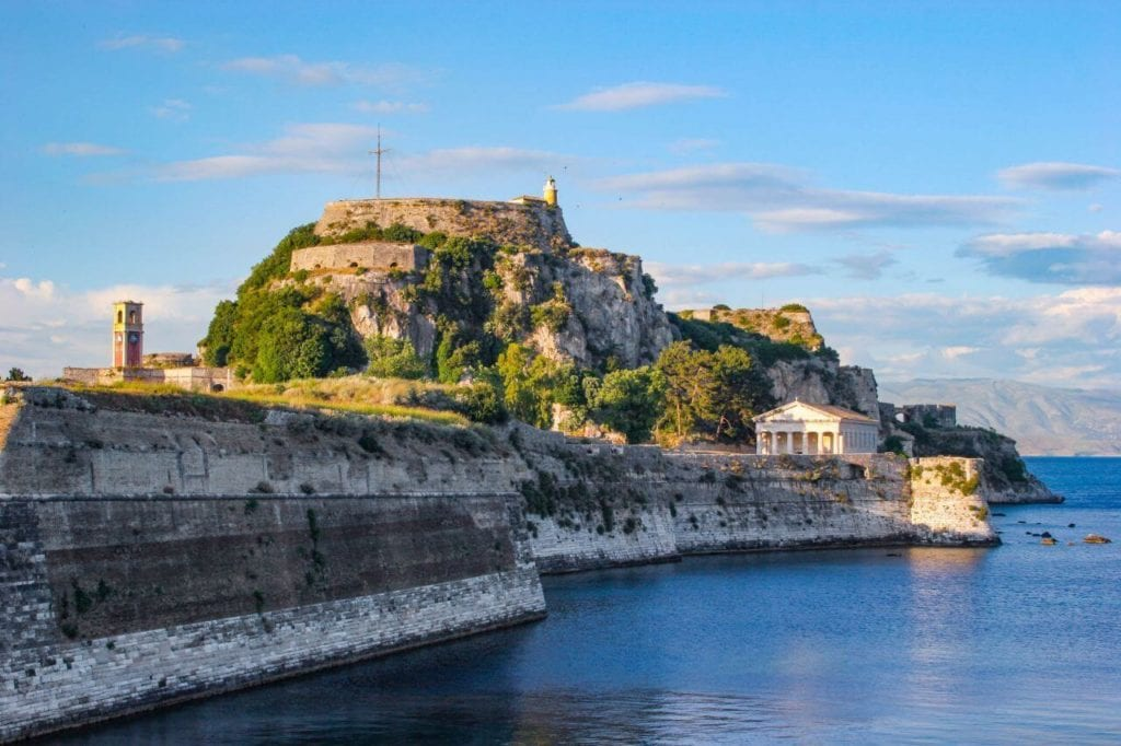 MalDia On the Greek island of Corfu a fortified castle built from Maltese stone by Maltese builders