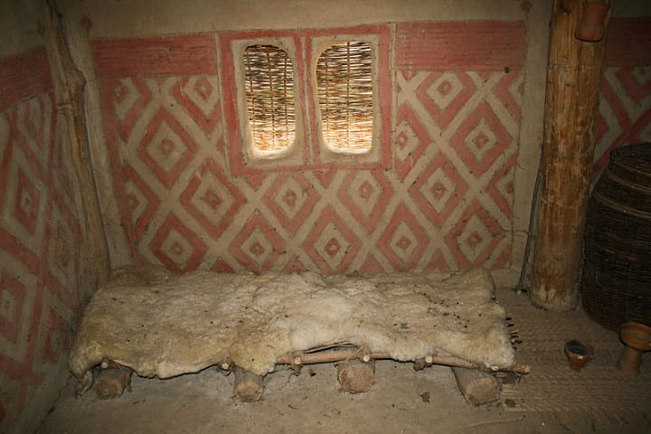 MalDia Early Neolithic house bed