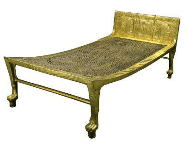 MalDia Early version of an upraised bed Were they first used in Malta and Egypt