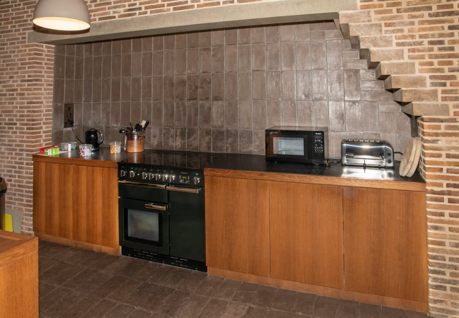Pic The kitchen at Astley Castle