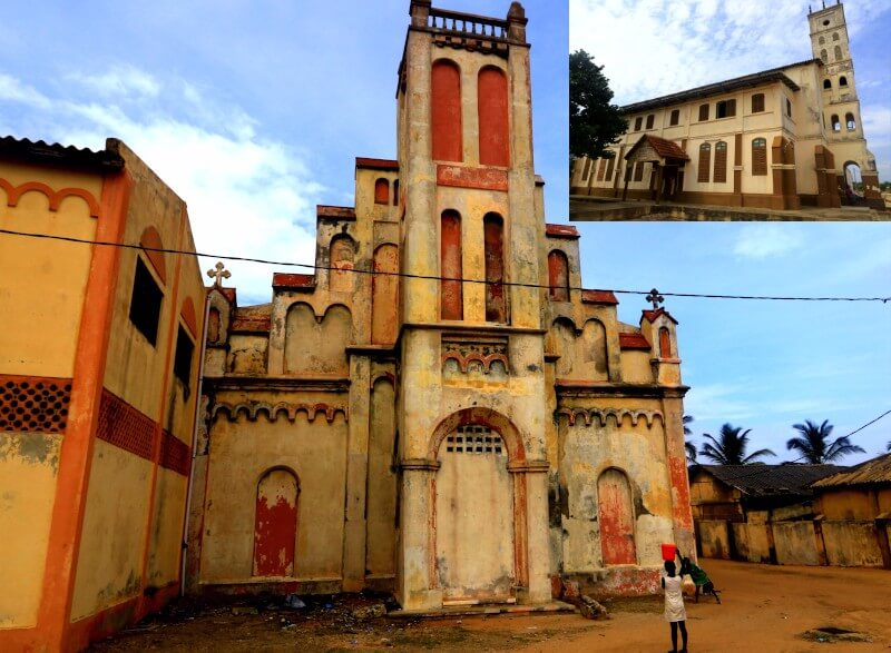 The Peter Paul Church and the Ebenezer Methodist Church Aneho