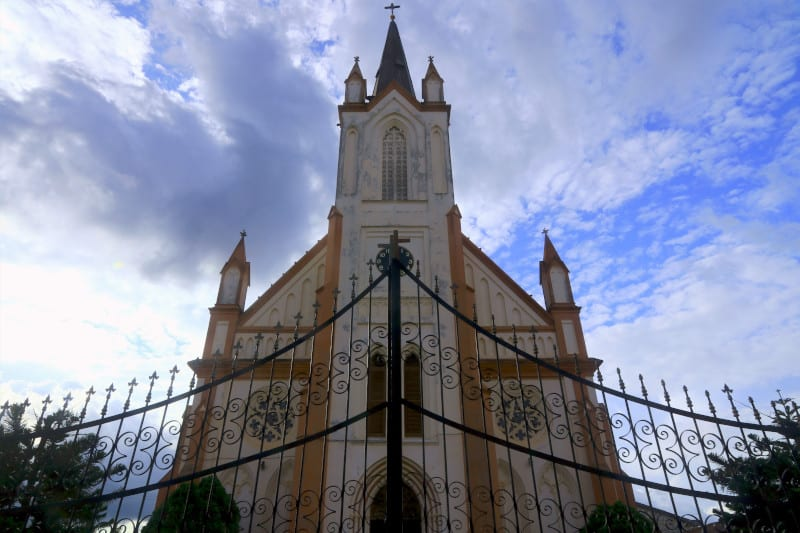 The German Catholic church in Kpalime