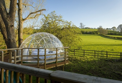 A dome with a view
