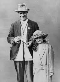 Mahon and his daughter