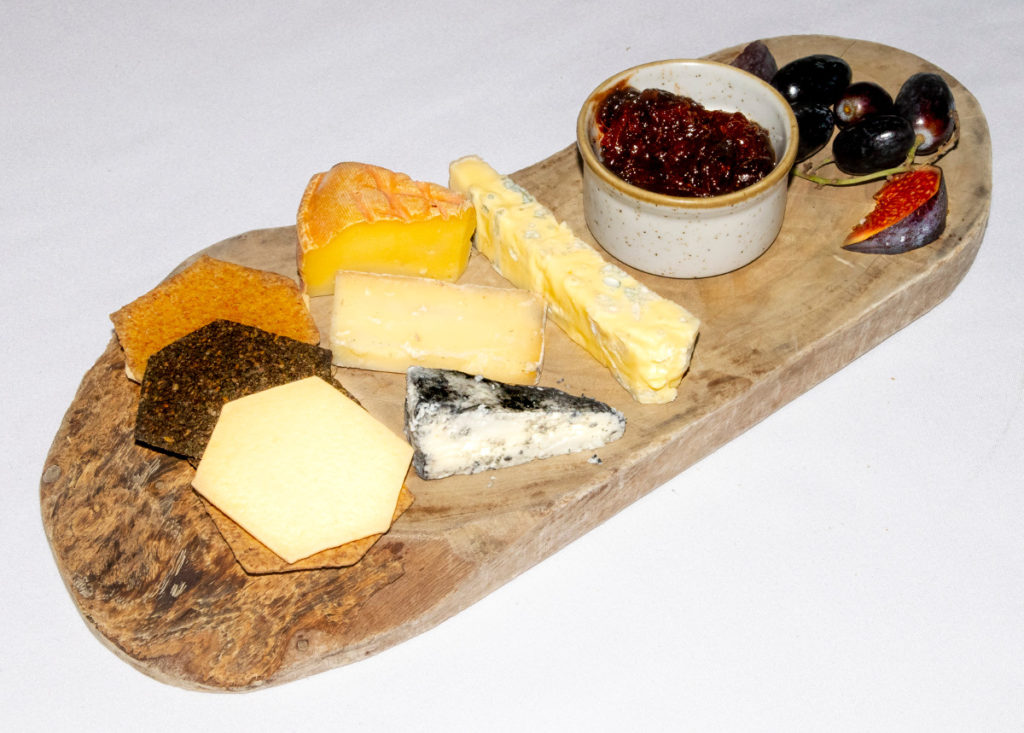Pic A selection of English cheeses to finish a wonderful tasting menu