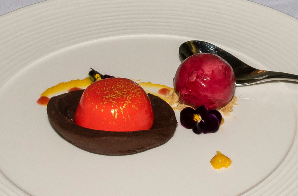 Pic Fabulously presented desserts