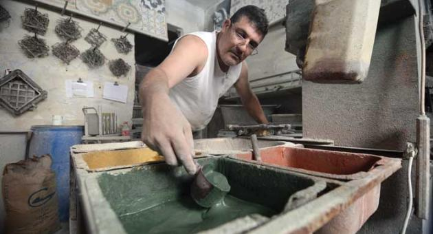 MalDia A labour of love but handmade tile making is still very popular and much sought after