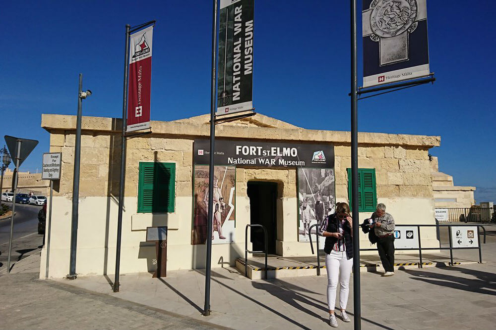 MalDia Fort St Elmo in Valletta which houses the National War Museum