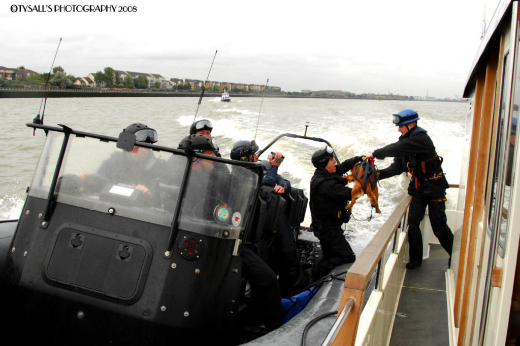 Pic Amazing experience seeing the Thames Marine Police at work