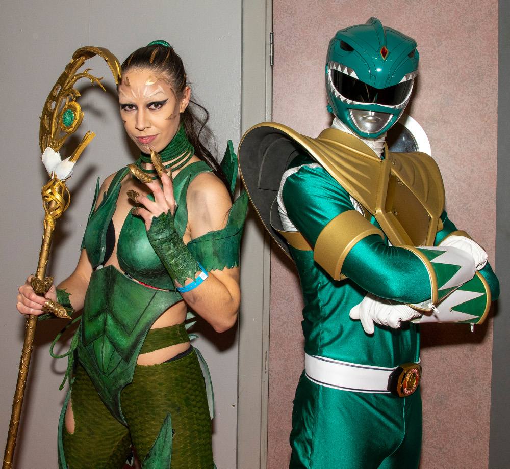 Pic Cosplay enthusiasts make amazing costumes