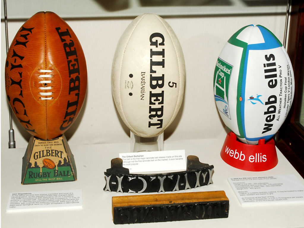 Pic Some Gilbert Match balls with the stencil