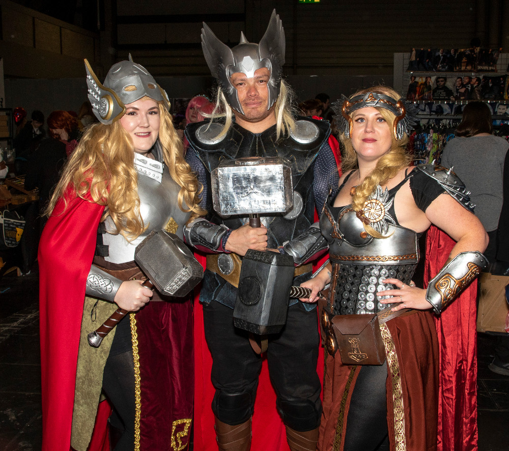 Pic A powerful trio of Thor characters