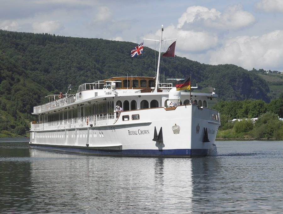 River cruising aboard the MS Royal Crown Noble Caledonia