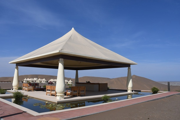 Welcome desk at Dunes by Al Nahda