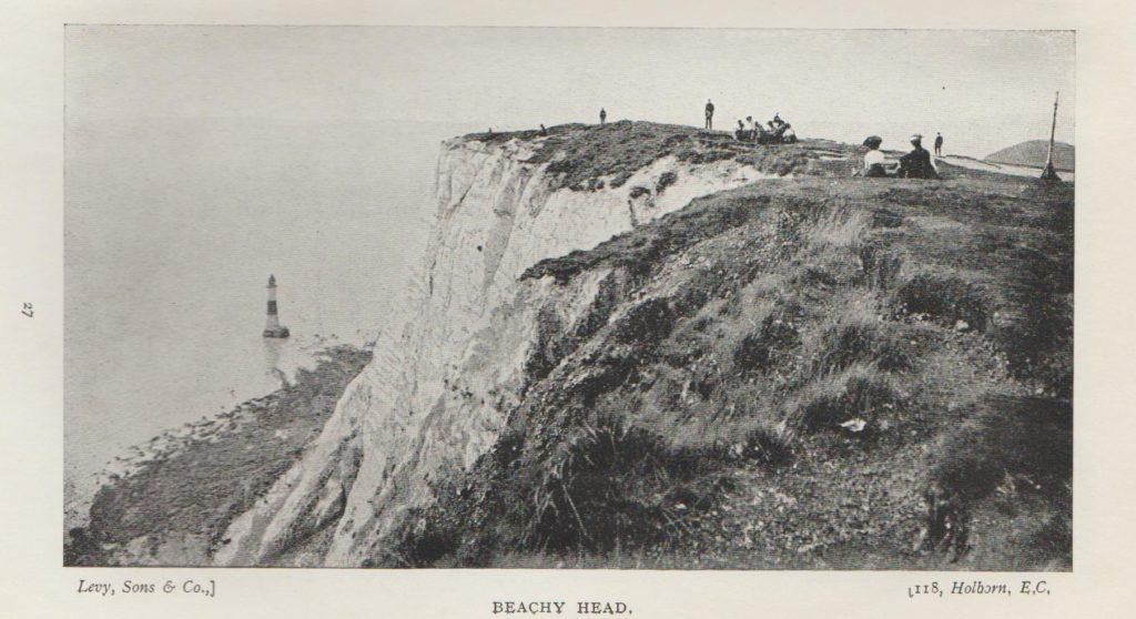 Beachy Head Picnickers from