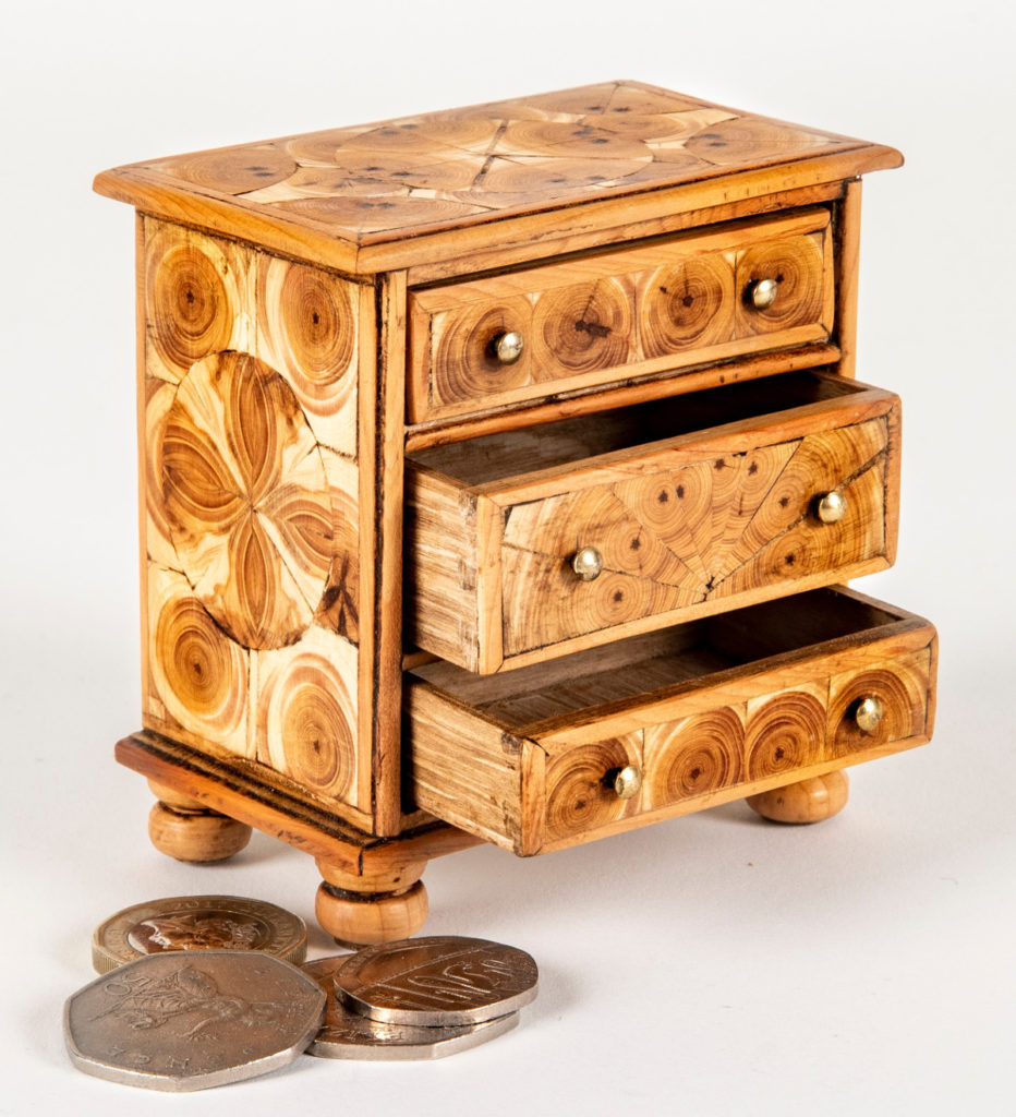 Pic Chest of drawers by Terence Facey