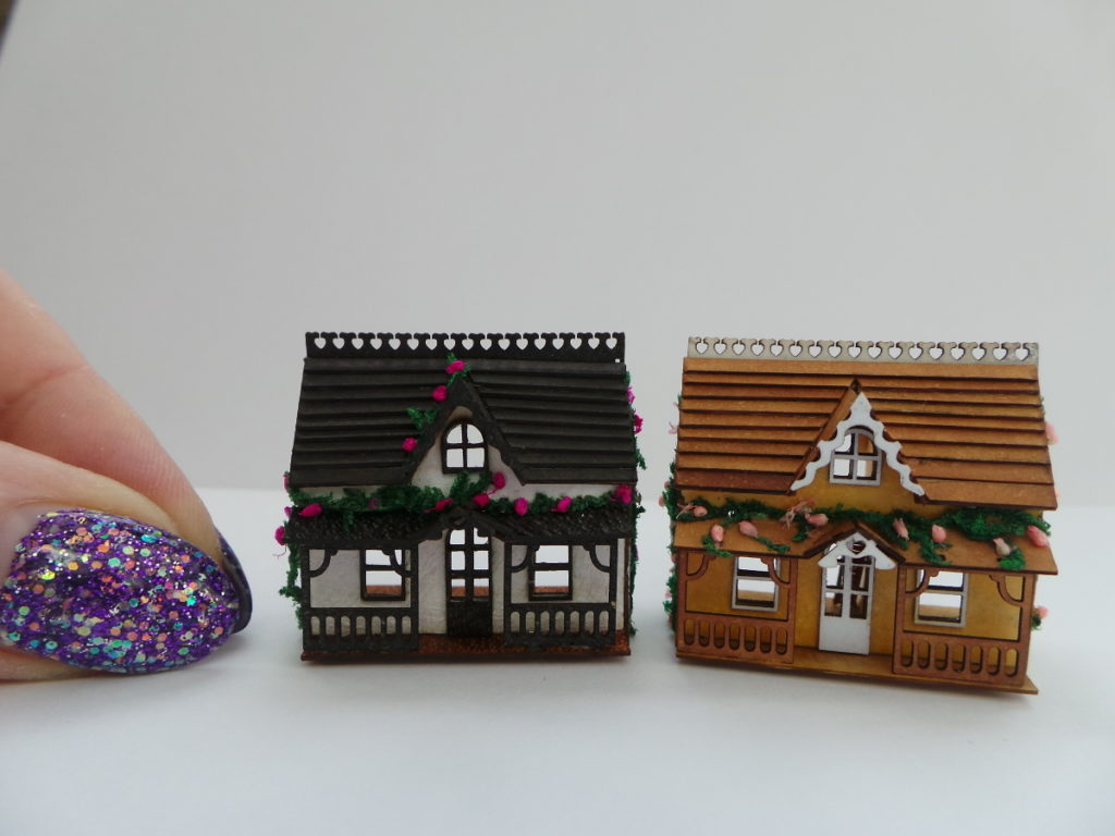 Pic Two of Sonia Bethwaites tiny cottages in scale