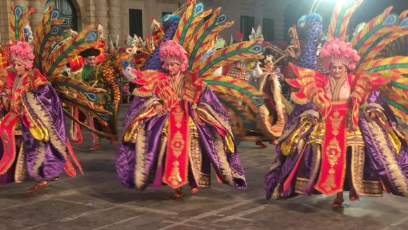 MalDia Opening the Carnival revelry in the late s