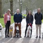 Pic 1. Finalists in Crufts Friends for Life with James Middleton