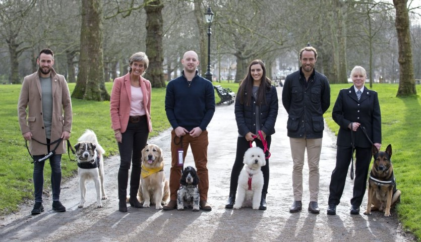 Pic Finalists in Crufts Friends for Life with James Middleton