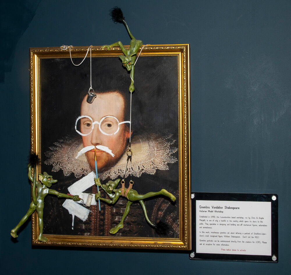 Pic Gremlins Vandalise Shakespeare by the Victorian Model Workshop Copy