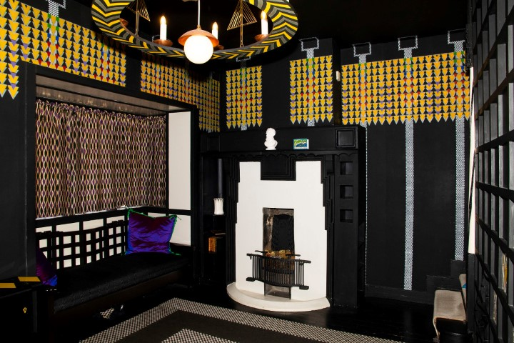 Pic The lounge hall rich with Charles Rennie Mackintoshs decor