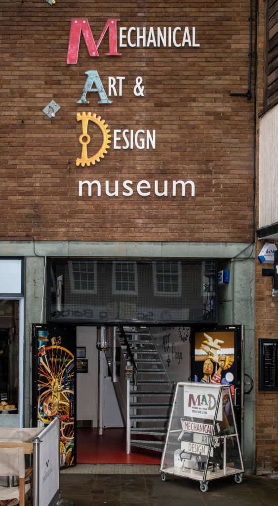Pic The MAD Museum Stratford upon Avon