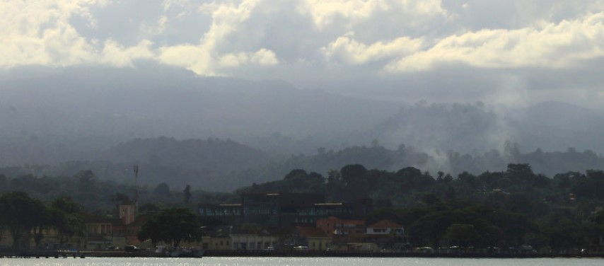 The hills above Sao Tome