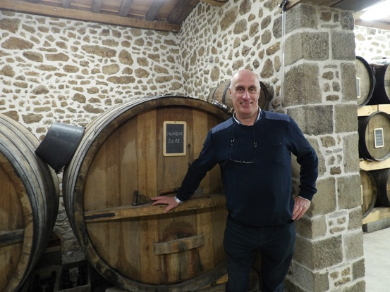 Hughes Desfrieches another cider producer