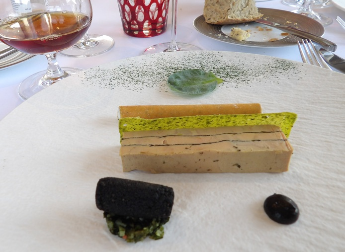 Foie gras with seaweed and ice cider by Arnaud Viel