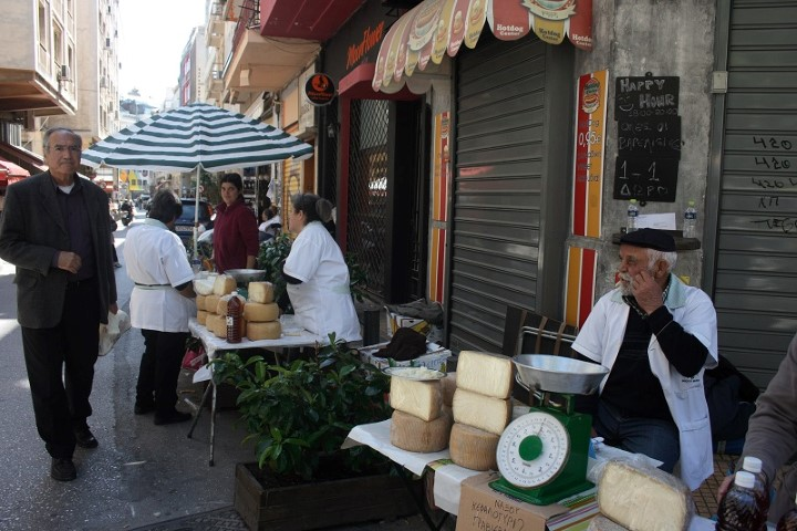 Athens Cheese Markets