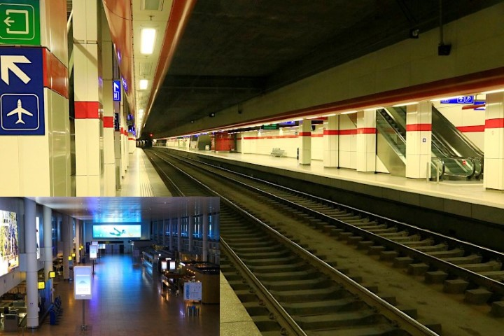 Mind the Gap at Brussels Airport station